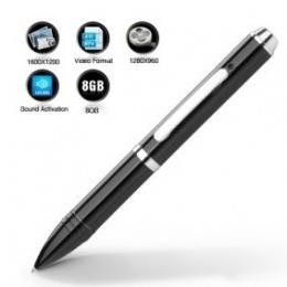 Voice Activated Pen Camcorder--8GB