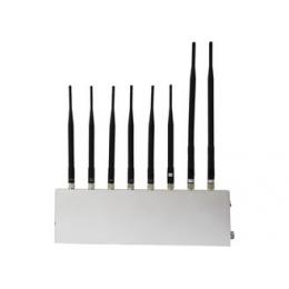 Mobile phone signal+3G+GPS+WIFI+walkie talkie Jammer(8 antennas